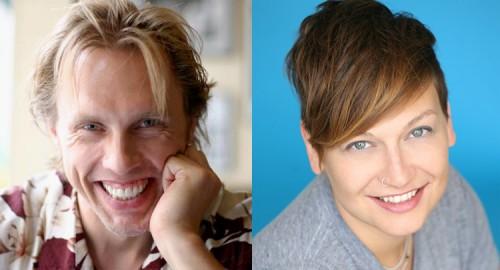 Reid Mihalko and Allison Moon