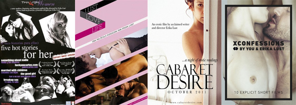 Five Hot Stories for Her, Life Love Lust, Cabaret Desire, XConfessions