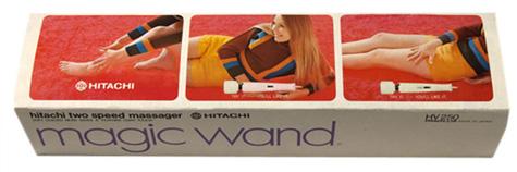 An old box for the Hitachi Magic Wand