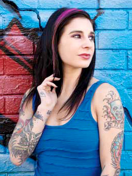 Joanna Angel, photo by Brad Dececco
