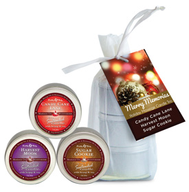 Seasonal Massage Candle Trio