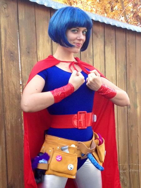 AJ (aka Amory Jane) as a sex toy superhero!