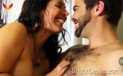 A screenshot from Ms Naughty's site Bright Desire