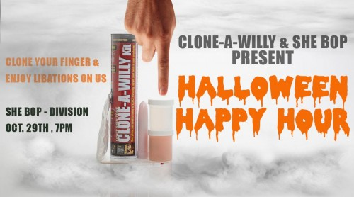 Halloween Happy Hour with Clone-a-Willy!