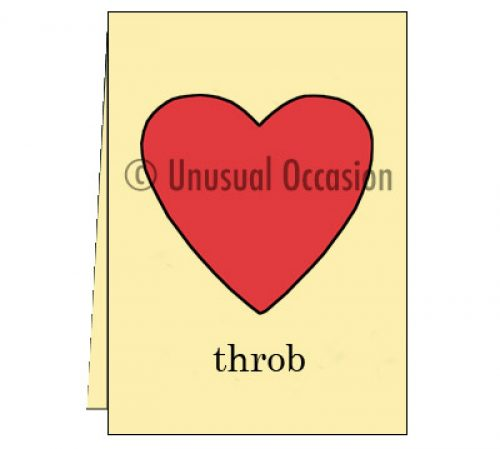 Unusual Occasion Love Bug and Heart Throb cards