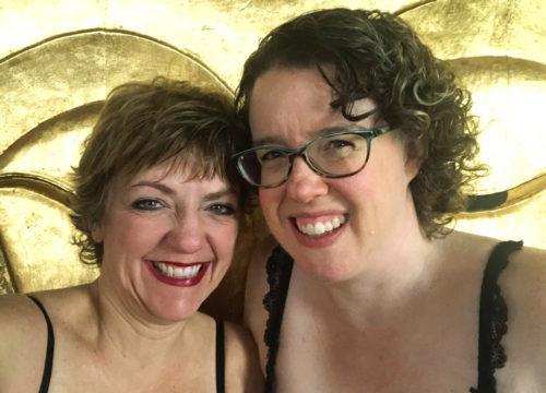 Melanie Moseley and Leah Carey
